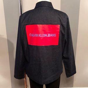 Men's Calvin Klein jacket paid $168 size L NWT